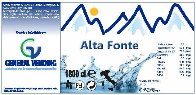 ALTA FONTE 2016